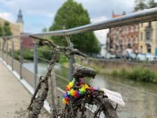 'Limited edition' fiets beschikbaar op de fietsersbrug aan Ter Platen