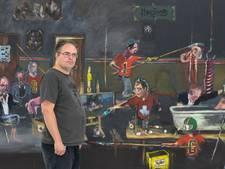 Kunstenaar Aaron van Erp neemt afscheid van Eindhoven met expo