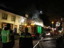 Uitslaande brand in huis in het centrum van Alphen