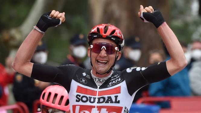 Beresterke Tim Wellens boekt op lastige aankomst tweede ritzege in Vuelta