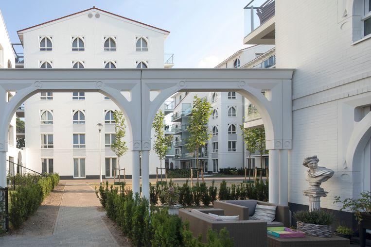 De Clarissenhof in Tilburg. Beeld Arjen Schmitz