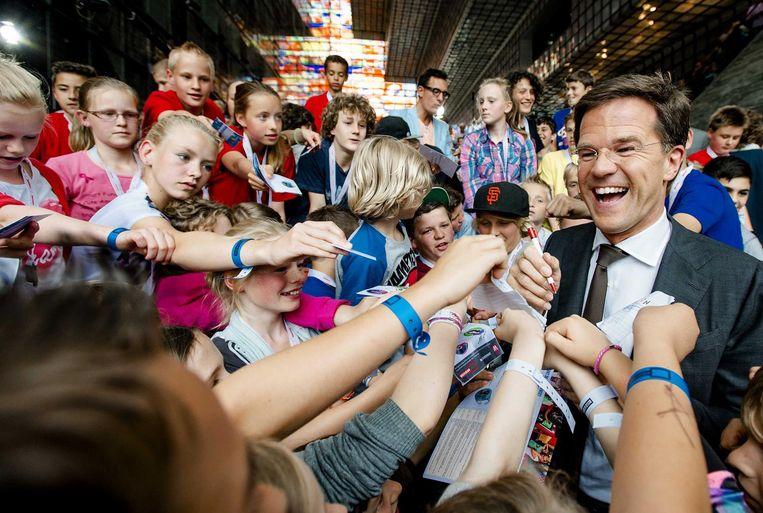Mark Rutte, Nederland. Beeld anp