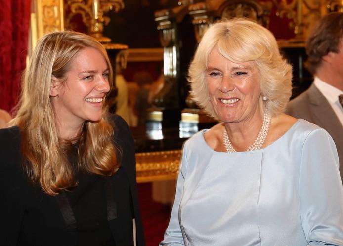 Camilla en haar dochter Laura