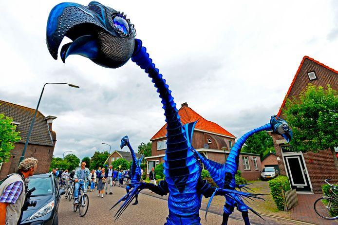 Dit jaar speelt het hele Halve Zolen Festival zich af op  Benedenkerkstraat in Waspik.