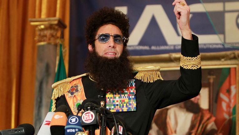 Sacha Baron Cohen als 'The Dictator' Beeld