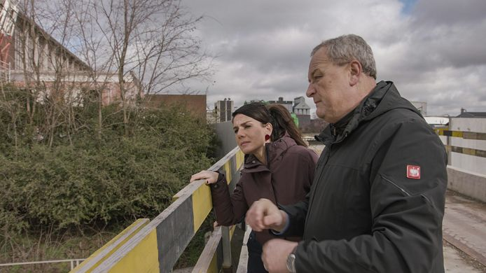 Fatma Taspinar en Alain Remue van de Cel vermiste personen