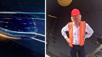 Richard Branson wil Britse hyperloop, waarmee je met meer dan 1.000 per uur onder grond zal kunnen reizen