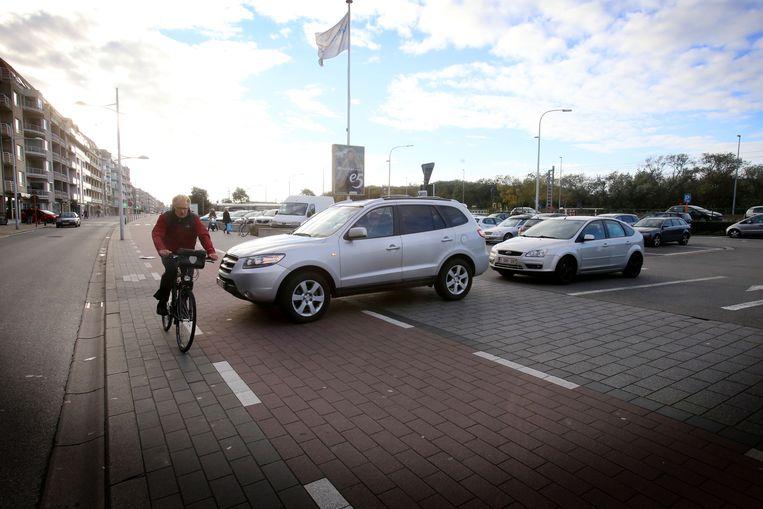 Archieffoto van parking Shopping