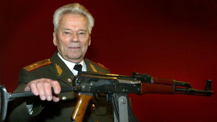 Michail Kalasjnikov, de uitvinder van het beroemdste wapen ter wereld