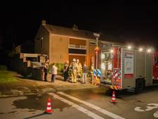 Ontploffende wasdroger veroorzaakt brand in een garage in Zevenaar