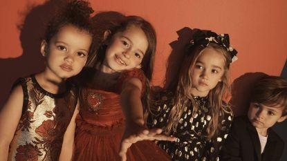Dolce & Gabbana pakt uit met schattige feestcollectie voor kinderen