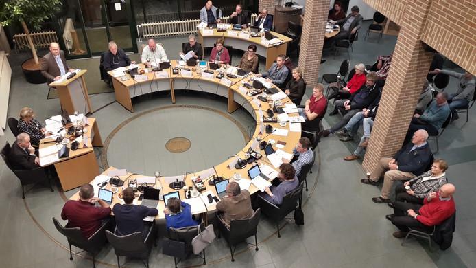 De gemeenteraad van Sint Anthonis vergadert over de begroting van 2019.