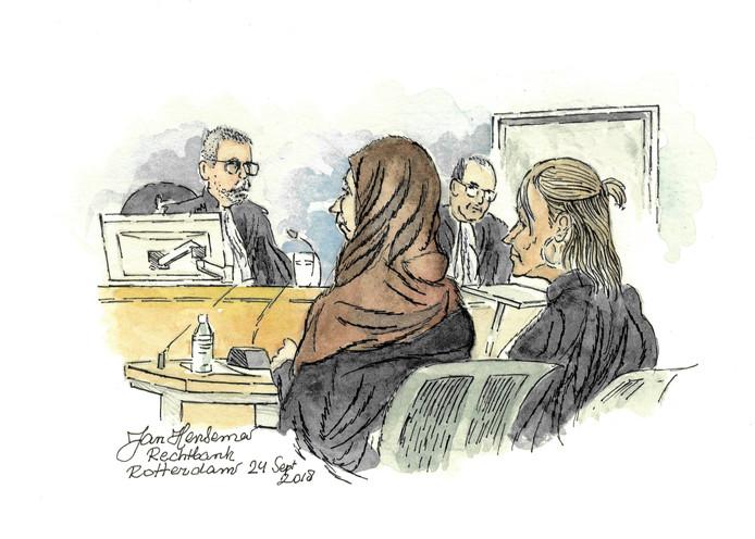 """Ze ging naar Syrië, naar Islamitische Staat. ,,Maar het had net zo goed Australië kunnen zijn"""", zei ze maandag tegen de rechtbank."""
