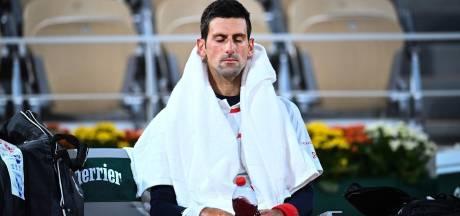 """Djokovic mystérieux sur sa blessure: """"Il s'est passé des choses à l'échauffement"""""""