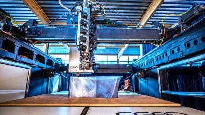 Een van de grootste 3D-printers ter wereld staat in Delft en kan kunststof voorwerpen printen ter grootte van een auto
