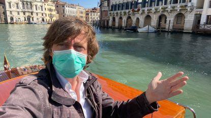 """Dagboek van Robin Ramaekers op 'coronaroadtrip' door Europa, over Ischgl en Venetië: """"Er is hier niks meer"""""""