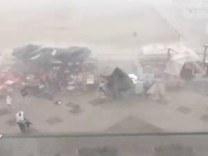 Une tempête impressionnante sème la panique à Knokke