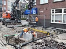 Verzakking Von Bönninghausenstraat Borne bijna opgelost