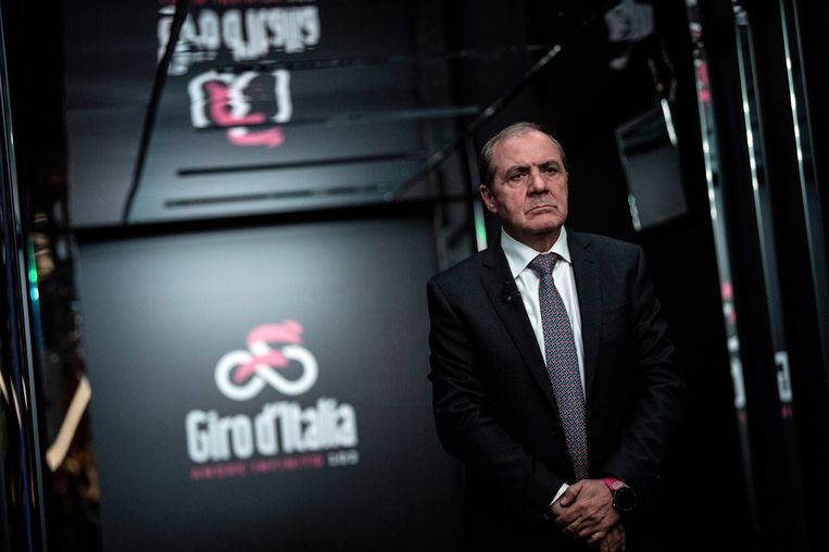 Mauro Vegni Beeld Foto AFP