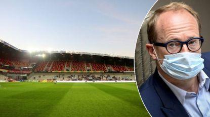 """Antwerpse profclubs kunnen dan toch thuis spelen: """"Je mag niet alles verbieden wat leuk is"""""""
