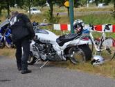 Motorrijders komen met elkaar in botsing in Prinsenbeek