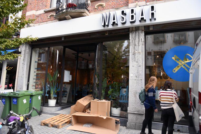 WASBAR in de Tiensestraat in Leuven is bijna klaar voor de opening op dinsdagochtend.