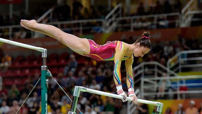 Nina Derwael est la première Belge championne d'Europe de gymnastique.