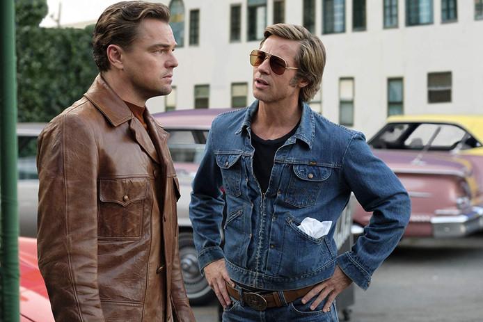 Brad Pitt en Leonardo DiCaprio.