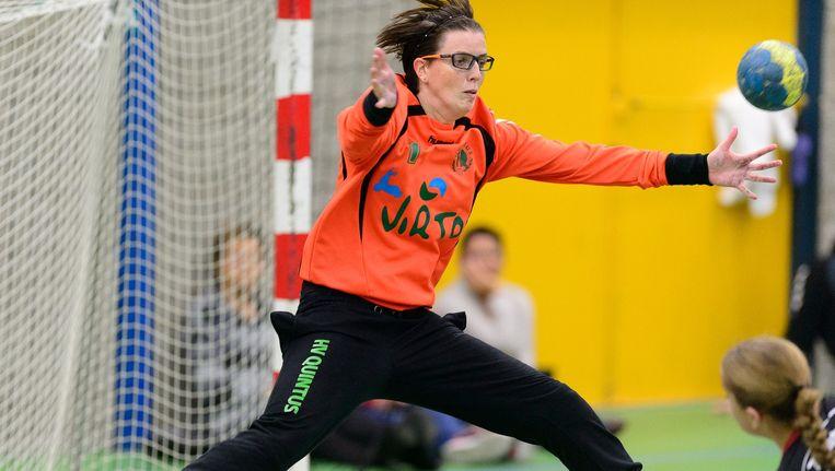 Marieke van der Wal in actie. Beeld null