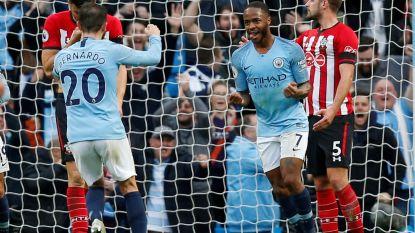 Man City, zonder De Bruyne en met Kompany als invaller, overrompelt Southampton: 6-1!