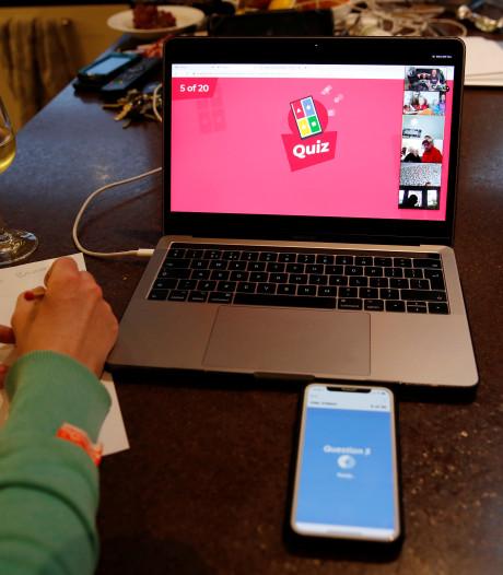 Online pubquiz verenigt Waspik