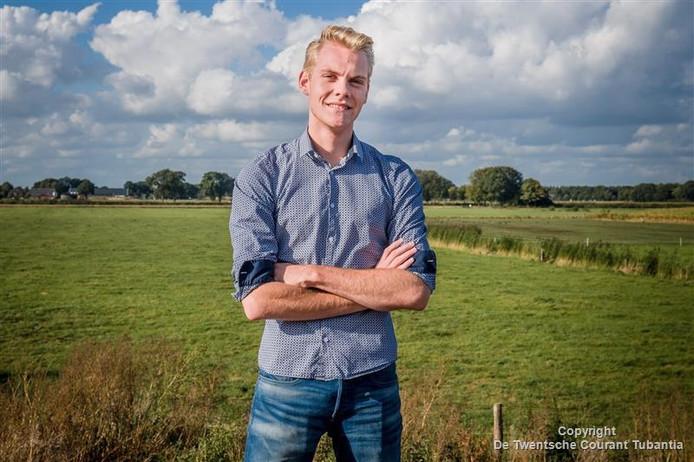 Sinds de conferentie in Oostenrijk heeft het milieu veel meer de aandacht van Peter-Jort Bakhuis, die de Overijsselse debatwedstrijd won.