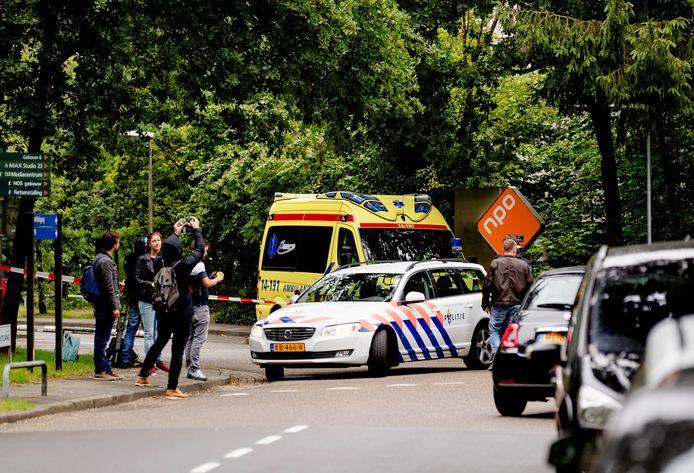 De politie maakte destijds een einde gemaakt aan de gijzeling in het NPO-gebouw op het Hilversumse Mediapark en arresteerde de Almelose  gijzelnemer.