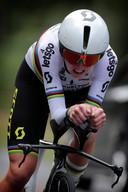 Ede - Netherlands - wielrennen - cycling - cyclisme - radsport - Van Vleuten Annemiek (Netherlands / Mitchelton Scott)  pictured during Dutch National Championships Cycling ITT Time Trial Individual Women Elite - photo Cor Vos © 2019