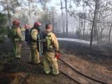 Grote natuurbrand in Milheeze, nablussen gaat nog lang duren