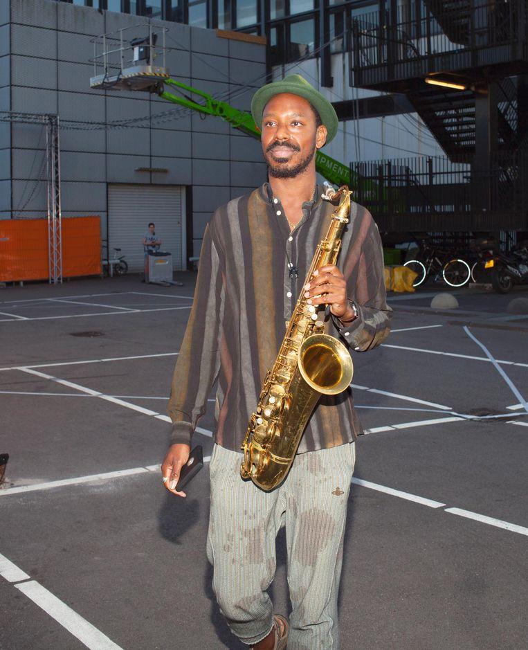 Shabaka Hutchings Beeld Daniel Cohen