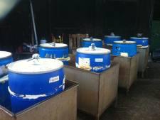 Tientallen drugsvaten gedumpt bij champignonkwekerij van boerin Michelle van Boer Zoekt Vrouw