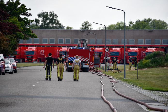 De brand bij Bolletje in Almelo zorgde voor veel schade.