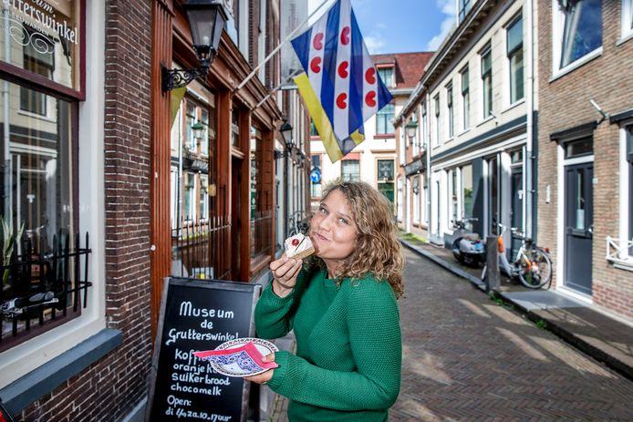 Laura de Grave: ,,De Friezen houden wel van iets zoets bij de koffie.''