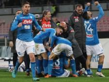 Napoli mag na winst op Genoa weer stiekem hopen op Scudetto