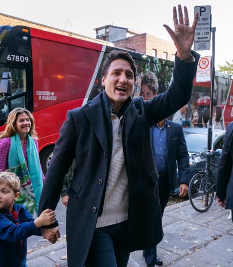 Trudeau verliest meerderheid, maar blijft wel premier van Canada