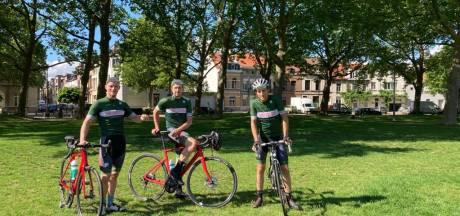 De 'Tour des Alpes' van drie Antwerpse vrienden: 28 cols tussen Salzburg en Nice om verkeersslachtoffers te helpen
