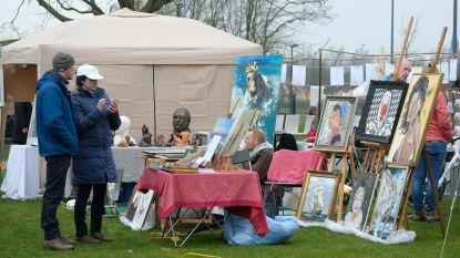 Nooit zoveel kunstenaars op Kunstenaarsmarkt in De Schorre