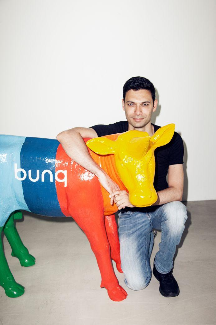 DNB verleende fintech-ondernemer Ali Niknam in 2015 een vergunning voor zijn internetbank Bunq.