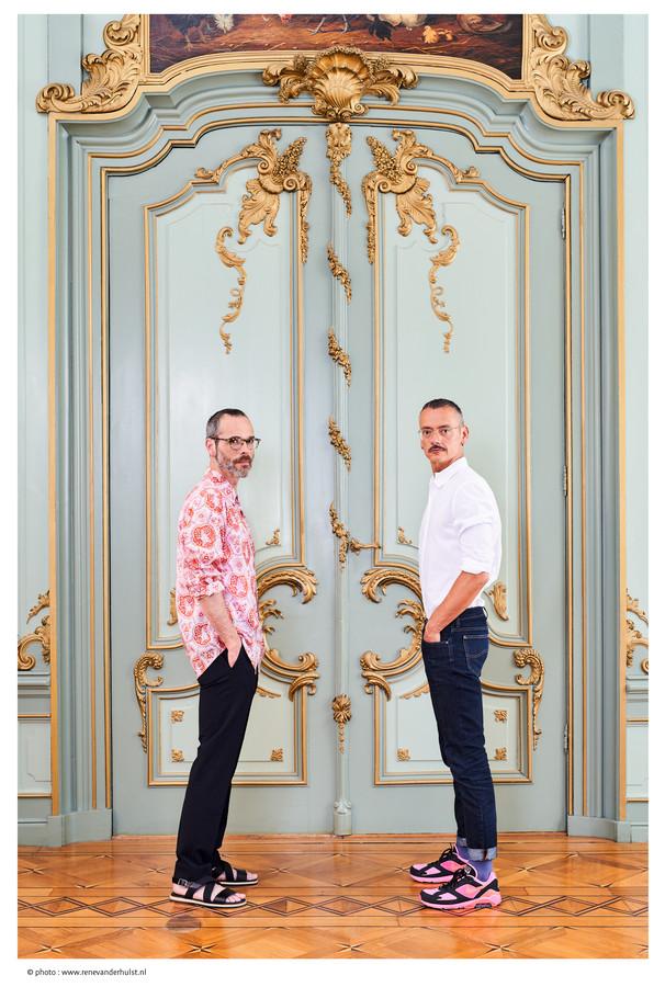 'Het had nooit Rolf & Viktor kunnen zijn, dat is grafisch minder mooi.'