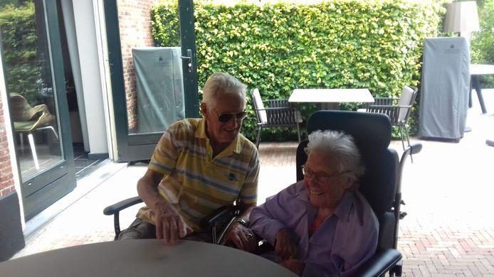 Gerard (91) en Riet (87) Walther worden binnenkort weer met elkaar herenigd.