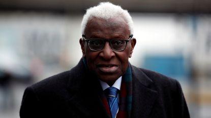Voormalig atletiekbaas Lamine Diack moet vier jaar gevangenisstraf vrezen