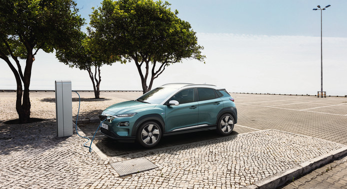 De Elektrische Hyundai Kona Haalt 470 Kilometer Op Een Acculading