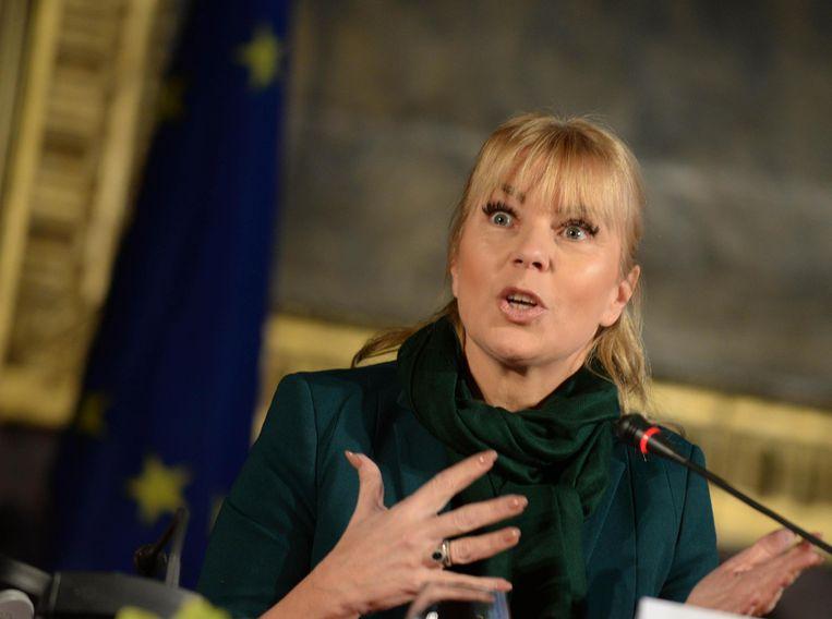 Industriecommissaris Elzbieta Bienkowska.