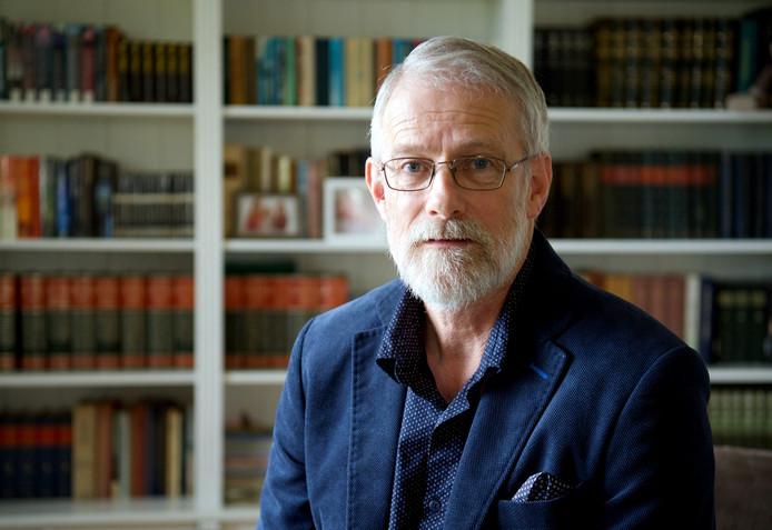 Bert Hutten, lijsttrekker van de SGP voor de gemeenteraadsverkiezingen in Hardenberg.